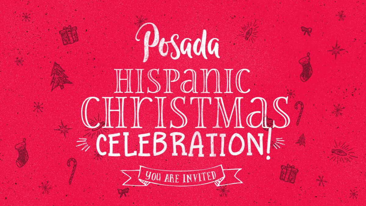 Posada Hispanic Christmas Celebration