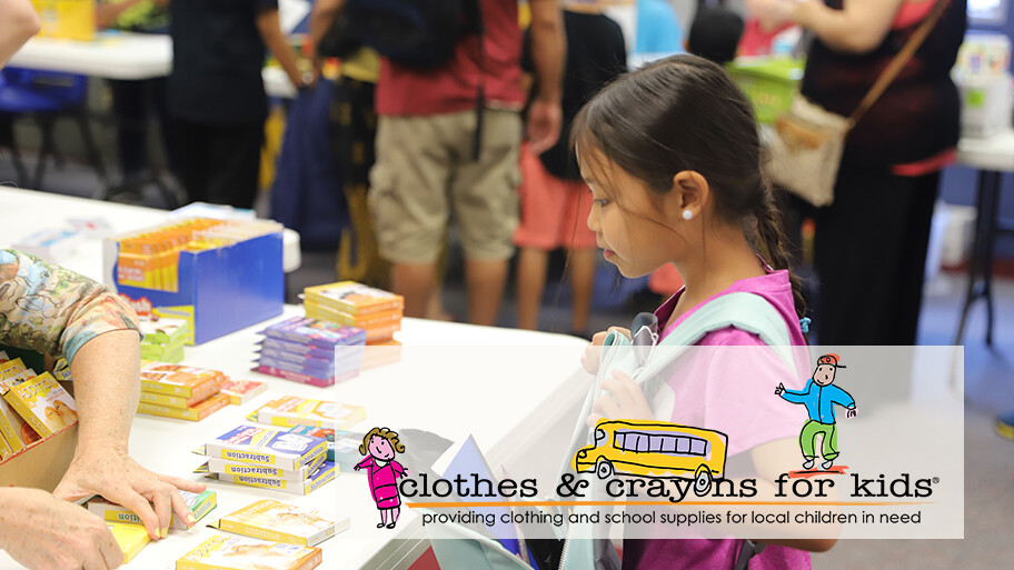 Clothes & Crayons for Kids
