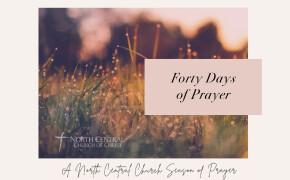 Forty Days of Prayer